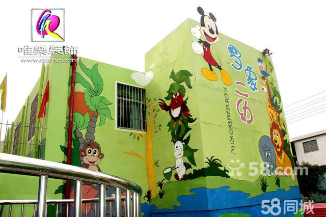 装饰性大型墙体壁画 (幼儿园