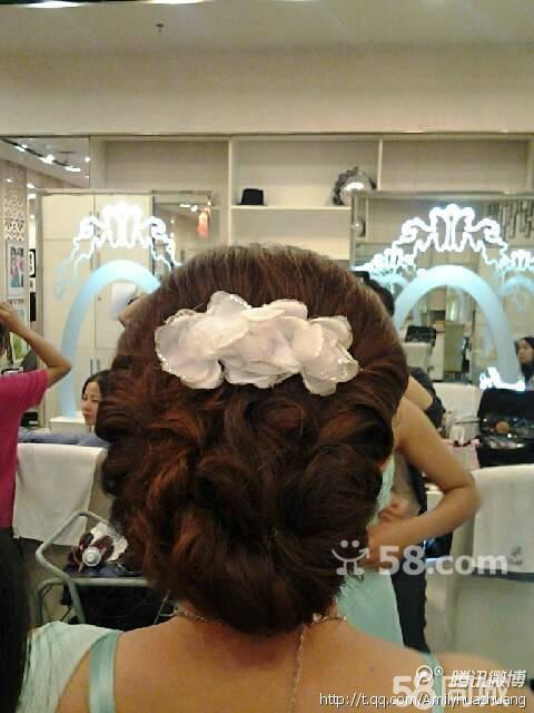 承接韩式 新娘妆 新娘韩式 造型 舞台妆 艺术