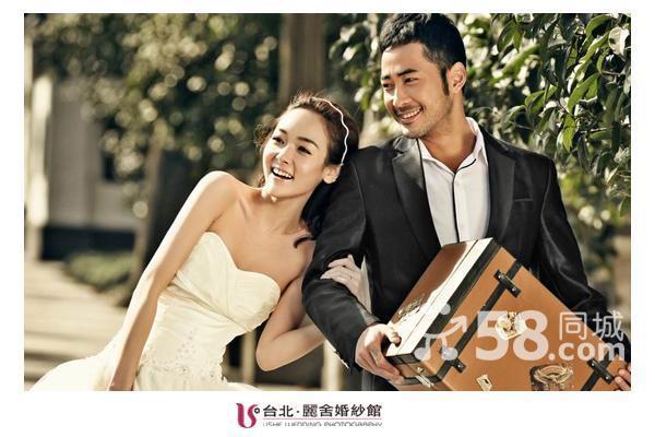 青岛婚纱摄影当然台北丽舍青岛最好的婚纱摄影