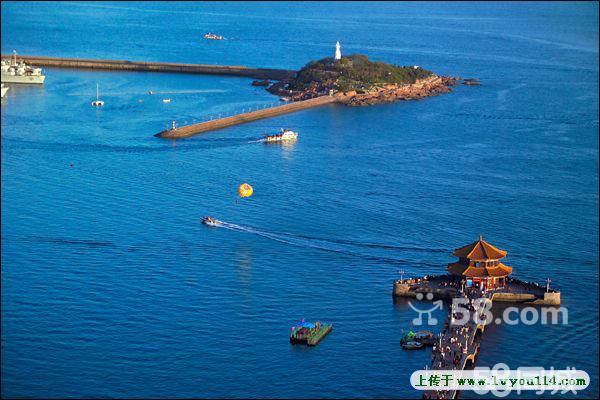 南京到青岛 极地海洋世界 海上观光石老人海滨浴场 黄岛金沙滩三日游