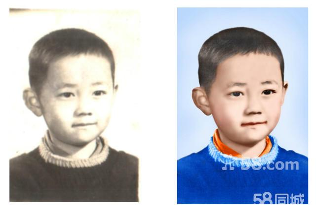 需要修复的老照片 修复破损老照片 老照片修复软件图片