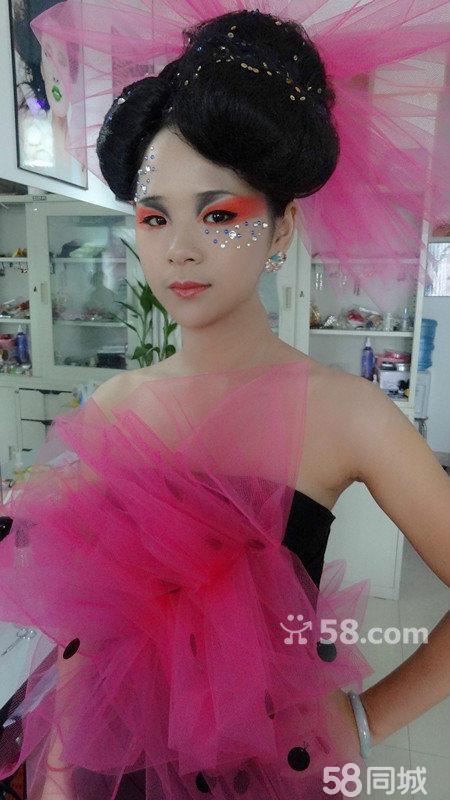 新娘子古装发型无发饰分享展示