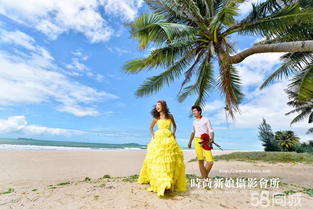 三亚景包含有:海边,沙滩,椰树林,园林景,游泳池. 洛阳内景:实景基地.
