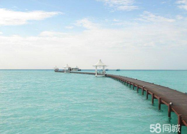 马尔代夫旅游报价:幸福岛,4晚沙屋1晚马累,含早晚餐5晚7日旅游