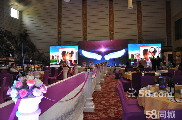 (荐)时尚LED大屏幕婚礼全套系仅5000元
