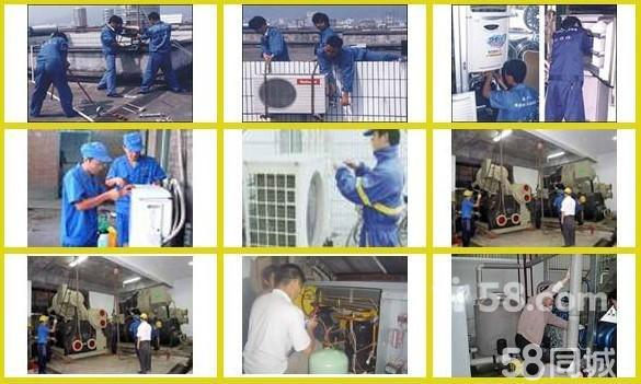 上海嘉定外冈三菱空调不启动维修外机风扇不转空调