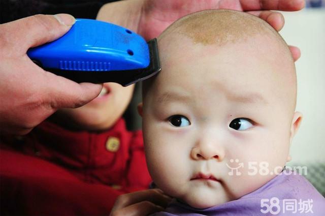 宝宝理发造型图片步骤图解