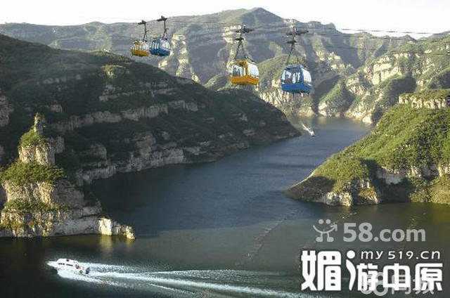 济源黄河三峡景区游玩路线