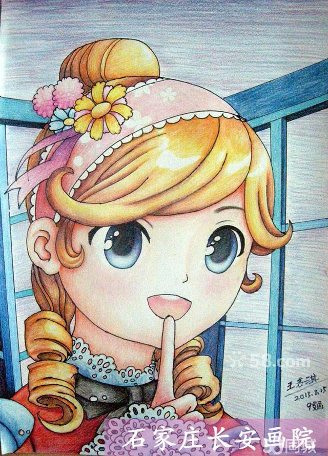 儿童彩铅画班:(7—8岁)