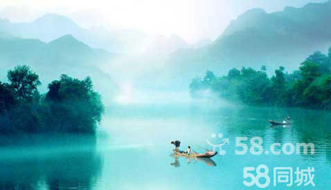 清江畫廊風景區位于三峽宜昌的長陽