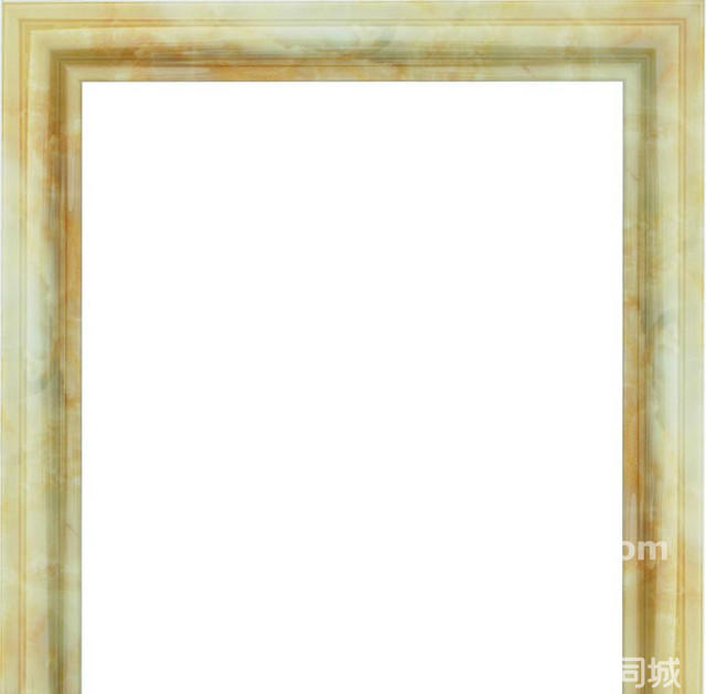 简约线条正方形边框素材