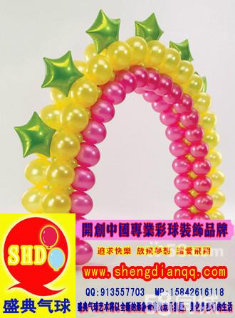 大连气球拱门制作,专业气球拱门装饰创意气球拱门制作