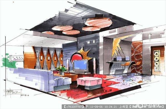 深圳平面室内手绘与效果图培训