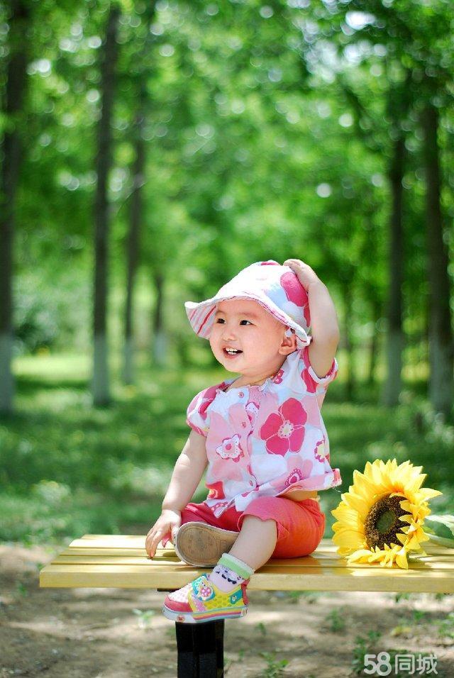 梧桐树儿童摄影