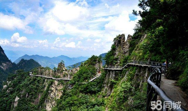 杭州大明山景区地图
