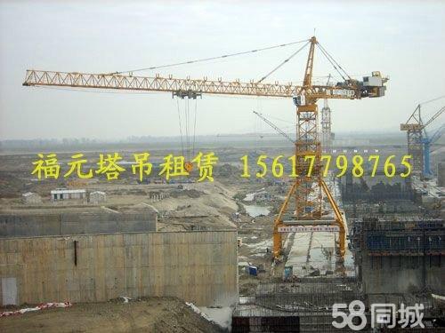 设备分别为国内三大塔机制造厂,中联重科,四川建机,沈阳三洋,塔吊型号