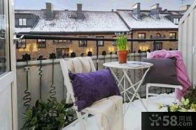 家装小阳台设计装修图片欣赏
