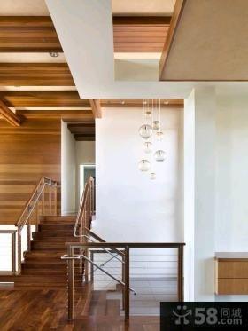 美式裝修豪華客廳吊頂圖片